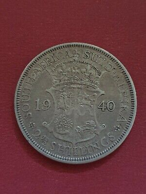 1940 South Africa 2 1/2 Shillings
