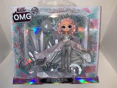 LOL Surprise OMG CRYSTAL STAR 2019 Collector Doll Winter Disco Glitter