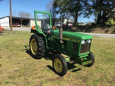 Very Nice John Deere 850 2WD Diesel Tractor with Only 557 Hours
