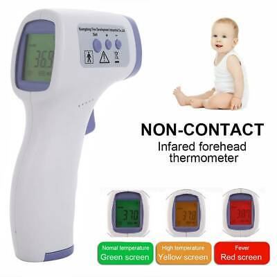 Medical Forehead and Ear Infrared Digital Thermometer for Baby, Kids and Adults