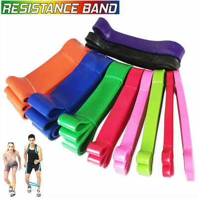 Latex Exercise Bands Resistance elastic Band -Pull Up Assist Bands Fitness GYM