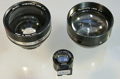 Bower Wideangle / Tele Photo Lens for Rollei 35/35T