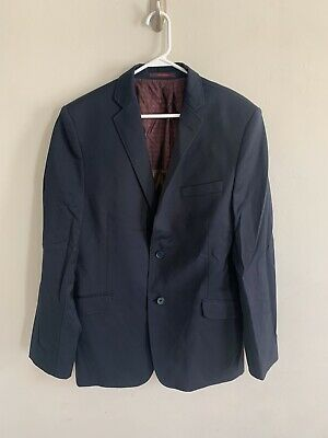 Ted Baker Men's Endurance Navy Blue Suit Jacket Size 42R