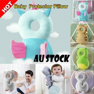 Baby Infant Safety Pillow Pad Kids Head Protection Cushion Toddler Walking Soft