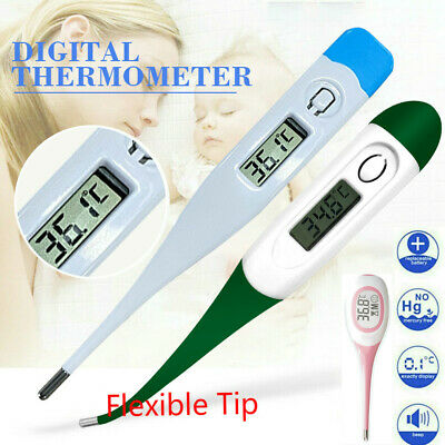 Flexible LCD Digital Thermometer Mouth Underarm Fever Body Thermometer Sticker