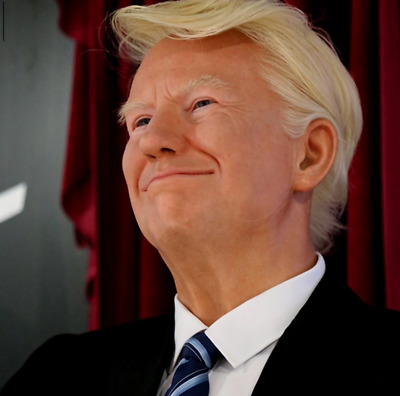 Life Size President Donald Trump 48 Wax Resin Statue Realistic Prop Display 1:1