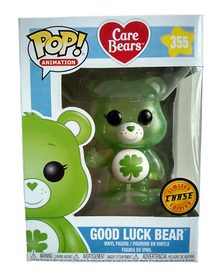 Funko Pop Good Luck Bear 455 Chase Care Bears Collectible Vinyl Figure New