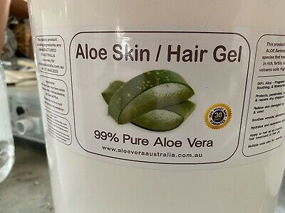 99% Pure Organic Aloe Vera Gel 1/2 Kilo Pack **IN STOCK**