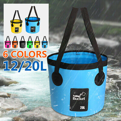 Folding Basin Portable Outdoor Camping Travel Collapsible Solid PVC Convenient