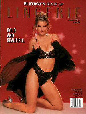 January1994 Playboy's Book of Lingerie- Park Morgan, Pamala Anderson, P Verkaik