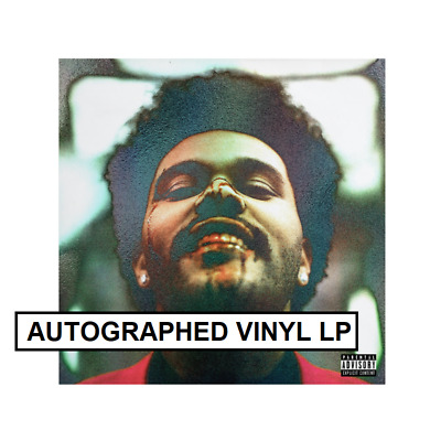 The Weeknd Signed Autographed After Hours Holographic Collectors Vinyl Lp +Proof