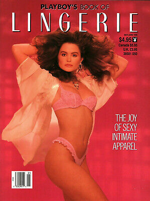 Playboy's Book of Lingerie (May/June 1990) Nia Breeon Front/Rear Cover