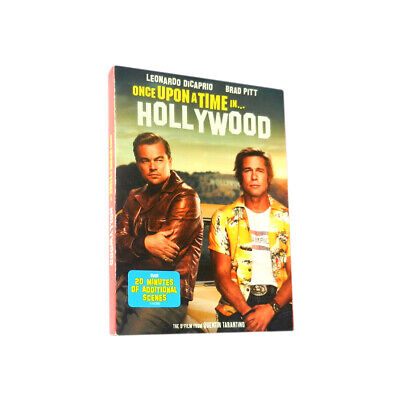 Once upon a Time in Hollywood DVD New & Sealed Free Shipping Included CM07