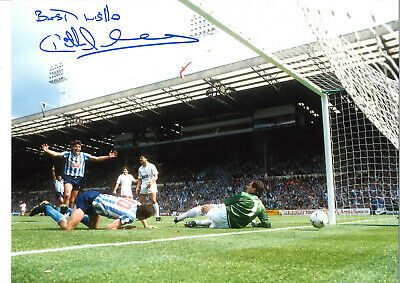Keith Houchen Coventry City FA Cup Final Signed authentic football photo SS1043B