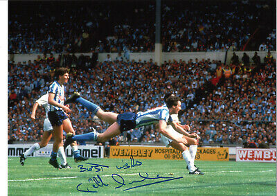 Keith Houchen Coventry City FA Cup Final Signed authentic football photo SS1043C