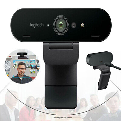 NEW Logitech BRIO Ultra HD Webcam for Video Conferencing Recording and Streaming