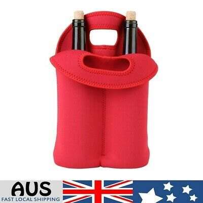 Wine Bottle Sleeve Cover Neoprene Insulated Bag Case Pouch Carrier Protector