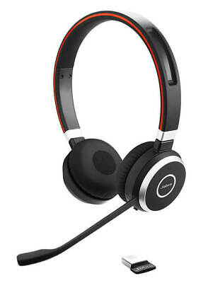 Jabra Evolve 65 Stereo Professional Wireless Headset with Dual Connectivity