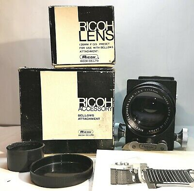 Ricoh, Ricoh Lens 3,5/135mm, M42, Rikenon Telephoto 135mm, Bellows Attachment