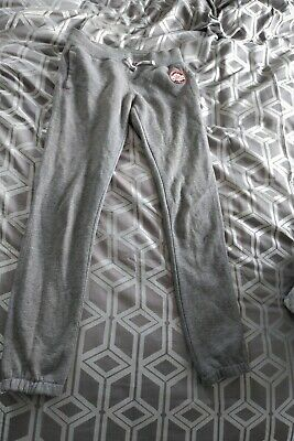 Girls all star Chuck taylorConserse Jogging Bottoms Grey 10-12