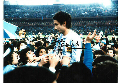 Ossie Ardiles Argentina Signed 16 x 12 inch authentic football photo SS1073B