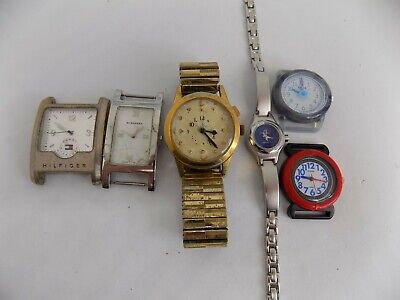 Joblot/Dealers Lot/Steampunk/Spares & repairs - BURBERRY, HILFIGER, TIMEX, etc