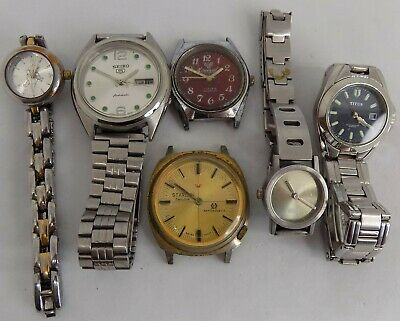 Joblot/Dealers Lot/Steampunk/Spares & repairs - watches, SEIKO, STARLON, STORM..