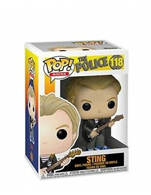 Funko Pop! 118 - Sting - The Police