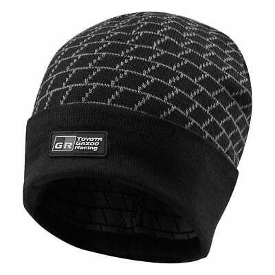 Toyota Gazoo Racing Knitted Beanie Hat 2019 Black ADULT