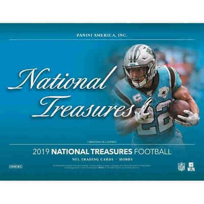 "Ed ""Too Tall"" Jones 2019 NATIONAL TREASURES FOOTBALL 12 BOX 3 CASE PLAYER BREAK"