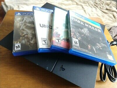 Sony PlayStation 4 500GB Console bundled with games