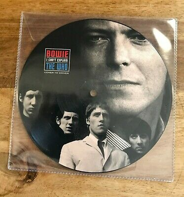 """DAVID BOWIE / THE WHO - I CANT EXPLAIN  -  Picture Disc  7"""" VINYL LIMITED ISSUE"""