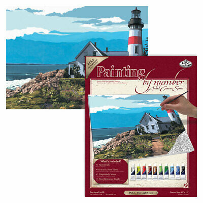 Royal Brush / Langnickel Large Canvas Paint / Painting by Numbers - various