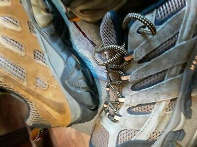 Merrell Moab 2 Vent Ventilator Hiking Boot Men's size 9 USED BROWN or TAN VG