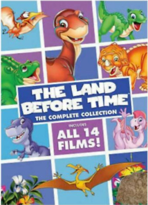 The Land Before Time: The Complete Collection 8 DVD Discs * New & Sealed