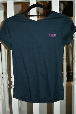 Girls - age 10 - Lonsdale London Blue Top