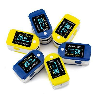 Fingertip Pulse Rate Oximeter Healthcare SpO2 Blood Oxygen Saturation Monitor