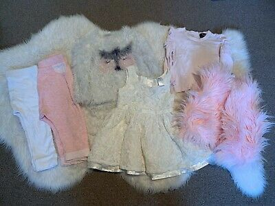 Baby Girl Seed Heritage & Country Road Bardot Bundle Size 0 1 (6 Items)