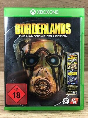 FSK18 • Xbox One Spiel • Borderlands: The Handsome Collection • Guter Zstnd #M34