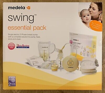 Medela Swing Essentials Pack + Extra RRP $269+ Excellent Condition FREE SHIPPING