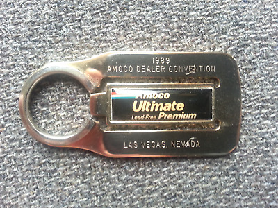 Vintage 1989 AMACO Gas Dealer Convention  Advertising Handout Keychain Fob