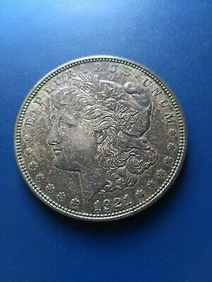 1921 USA Silver Morgan Dollar ($1), No Reserve!