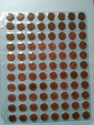 Collection of 88 Penny, Date Complete From 1937-2012, No Reserve!