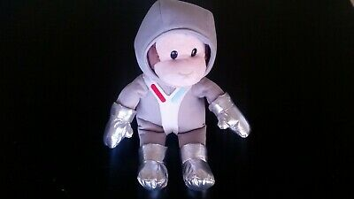 Curious George Astronaut Space Plush -USED, VGC- Stuffed Animal