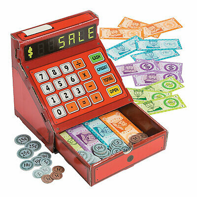 Play Cash Register With Money - 81 Pieces