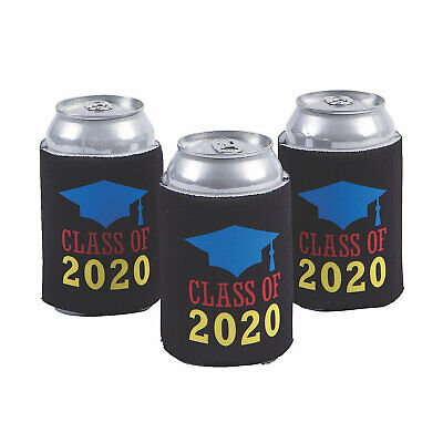 Class Of 2020 Can Covers - 12 Pieces