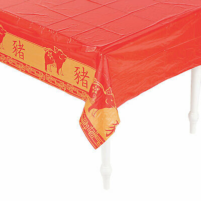 Year Of The Pig Tablecover - 1 Piece