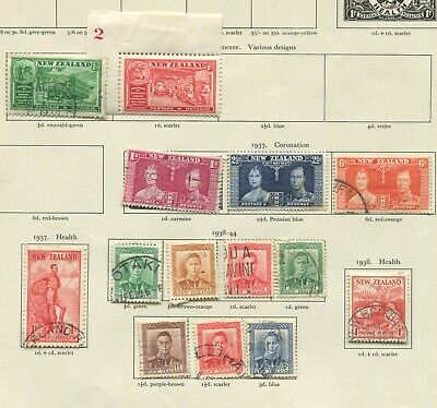 New Zealand KGVI on pages