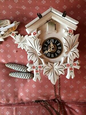 Vintage West German Cuckoo clock 1 day