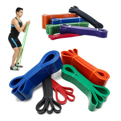 Resistance Bands Set Heavy Duty Exercise Loop Pull Up Bands Home Fitness Latex